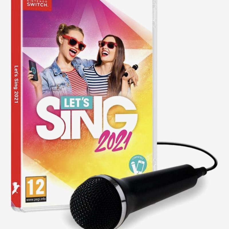 'Let's Sing 2021' is favoriet op de switch bij mijn dochter