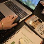 trust, toetsenbord, werkplek, thuiswerken