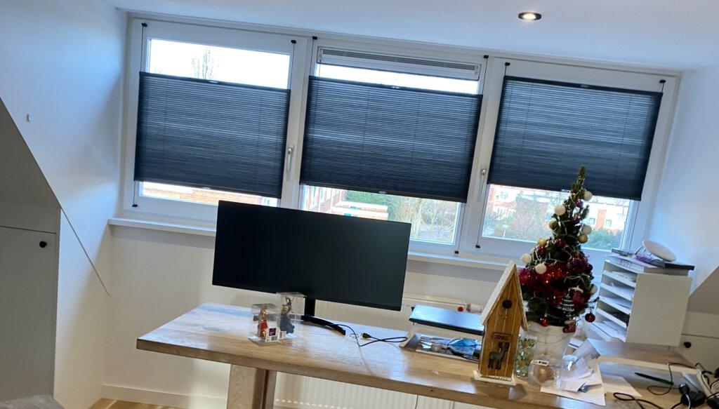 raamdecoratie, raambekleding, veneta.com, plissé gordijnen, raam