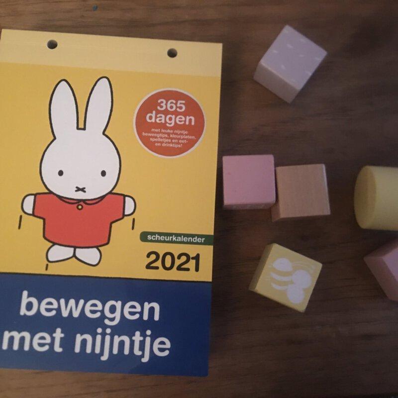 Bewegen met de Nijntje scheurkalender 2021