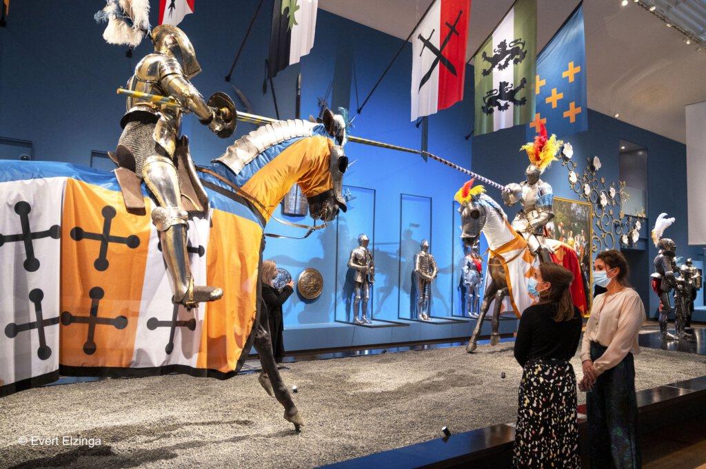 romanovs, Romanovs in de ban van de ridders, ridders in de hermitage, hermitage, amsterdam, middeleeuwen