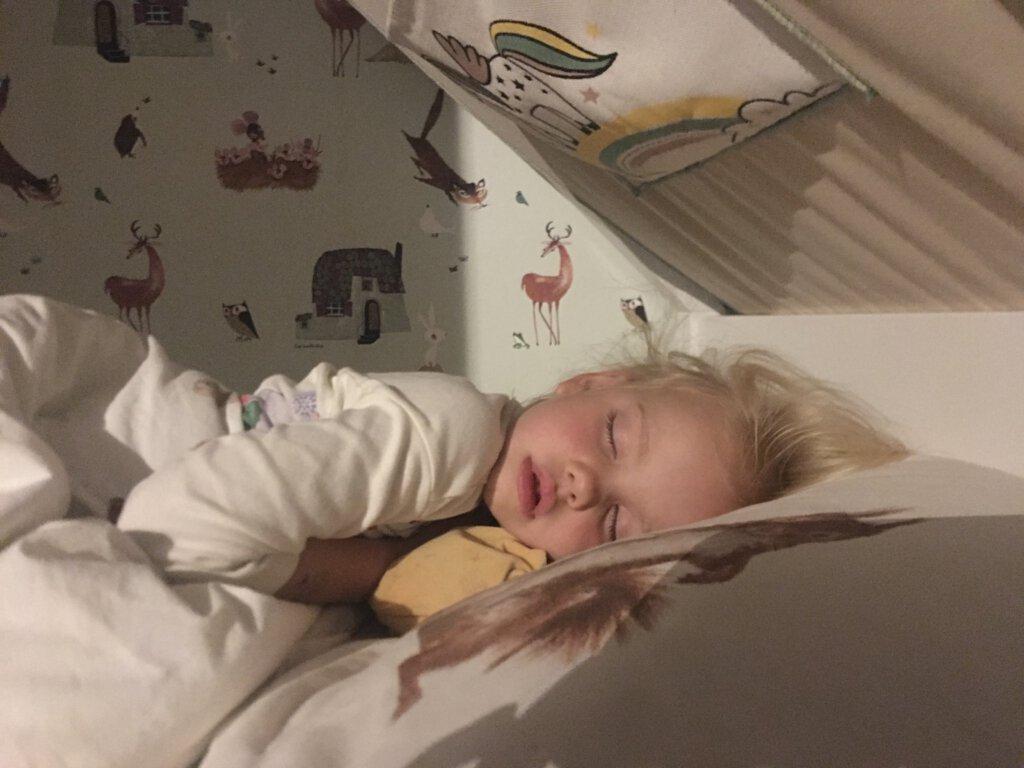 slapen bed