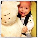 baby, brief aan mijn zoon, 8 jaar, baby, smile, geluk, blij