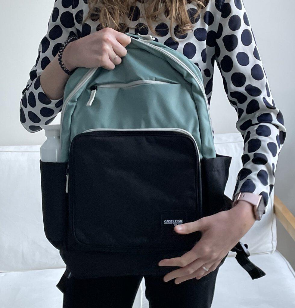Case Logic laptop tassen duurzame rugzak