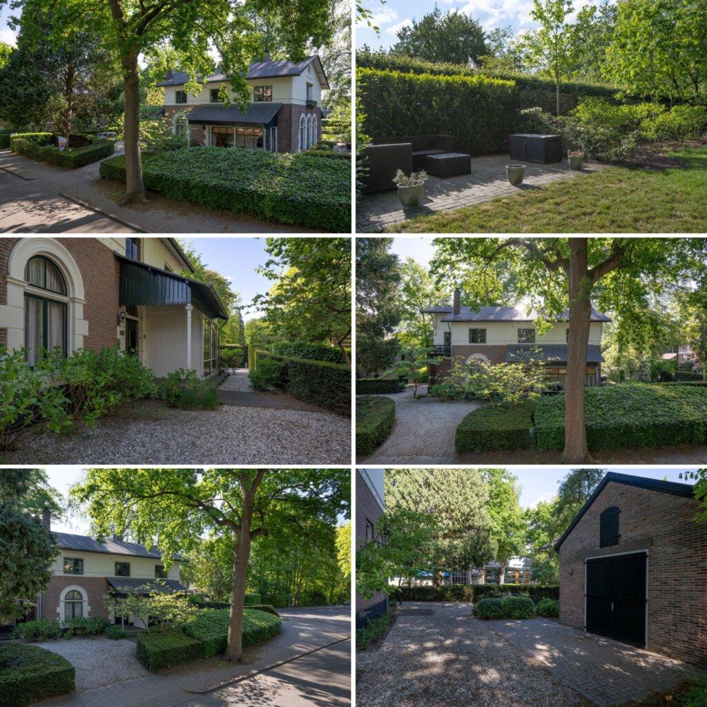 hermitage, tuin, grasveld, grasmaaier