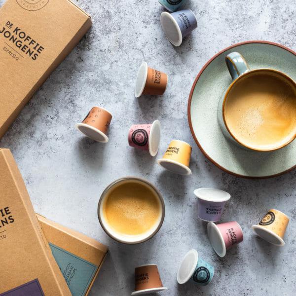 100% Biologisch afbreekbare koffiecups met de Koffiejongens