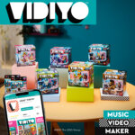 vidiyo, lego, app, dance music video, spelen, dansen