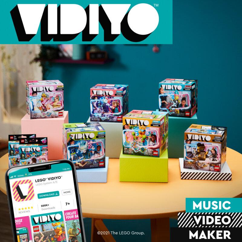 LEGO® VIDIYO™: een speelse en innovatieve manier om muziekvideo's te maken