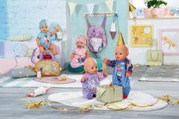 BABY born, poppen, kinderen, feest, jubileum, pop, Zapf