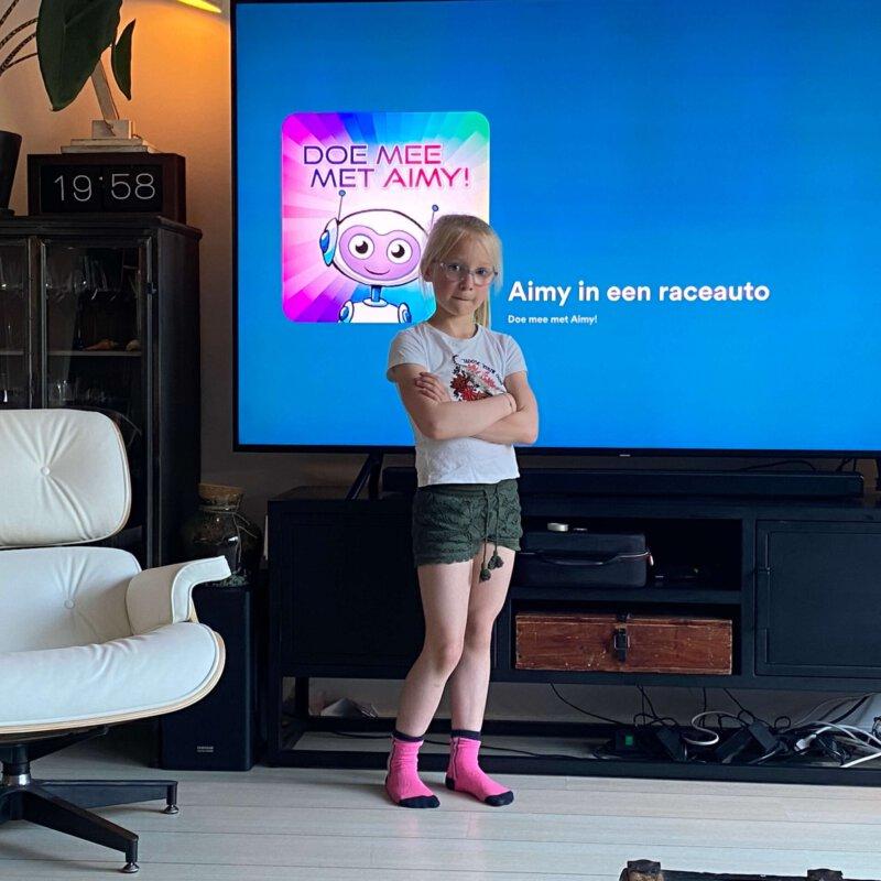Doe mee met Aimy!' de eerste actieve avonturenpodcast voor kinderen