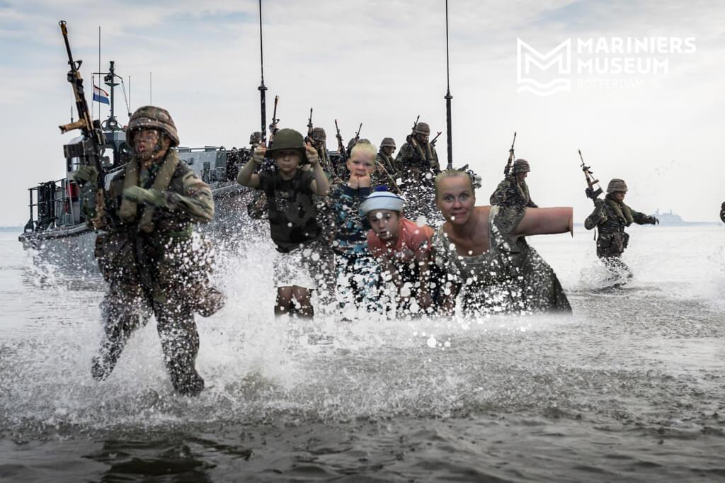 Ben jij een zeesoldaat? Ontdek het in het Mariniersmuseum, het stoerste museum van Nederland