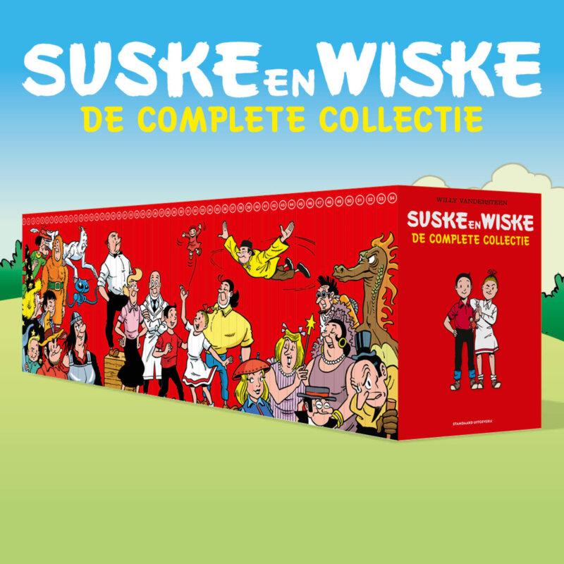 De complete collectie Suske en Wiske collectie in 1 keer in huis !