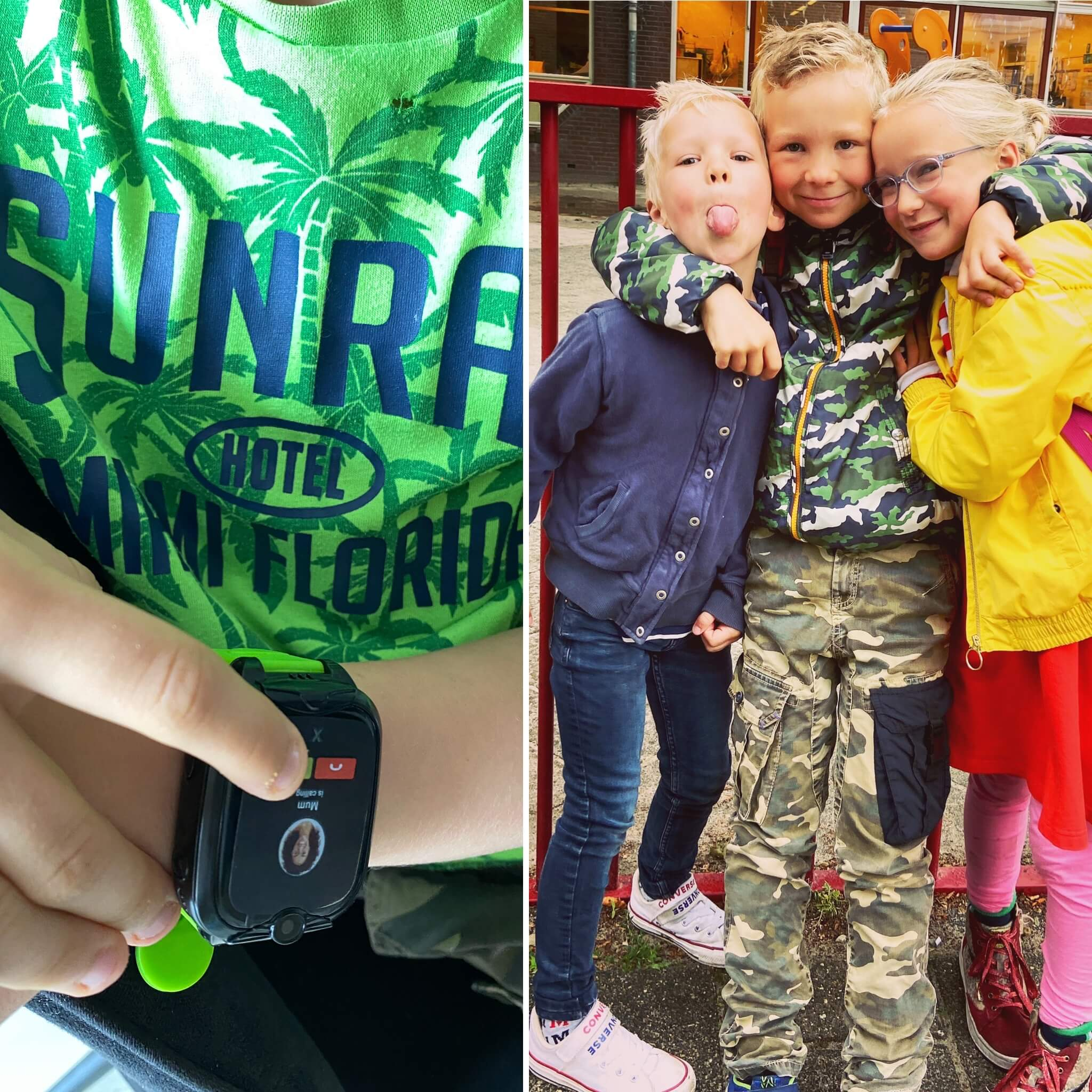 Kinder smartwatch, gps tracker, kinderen, horloge