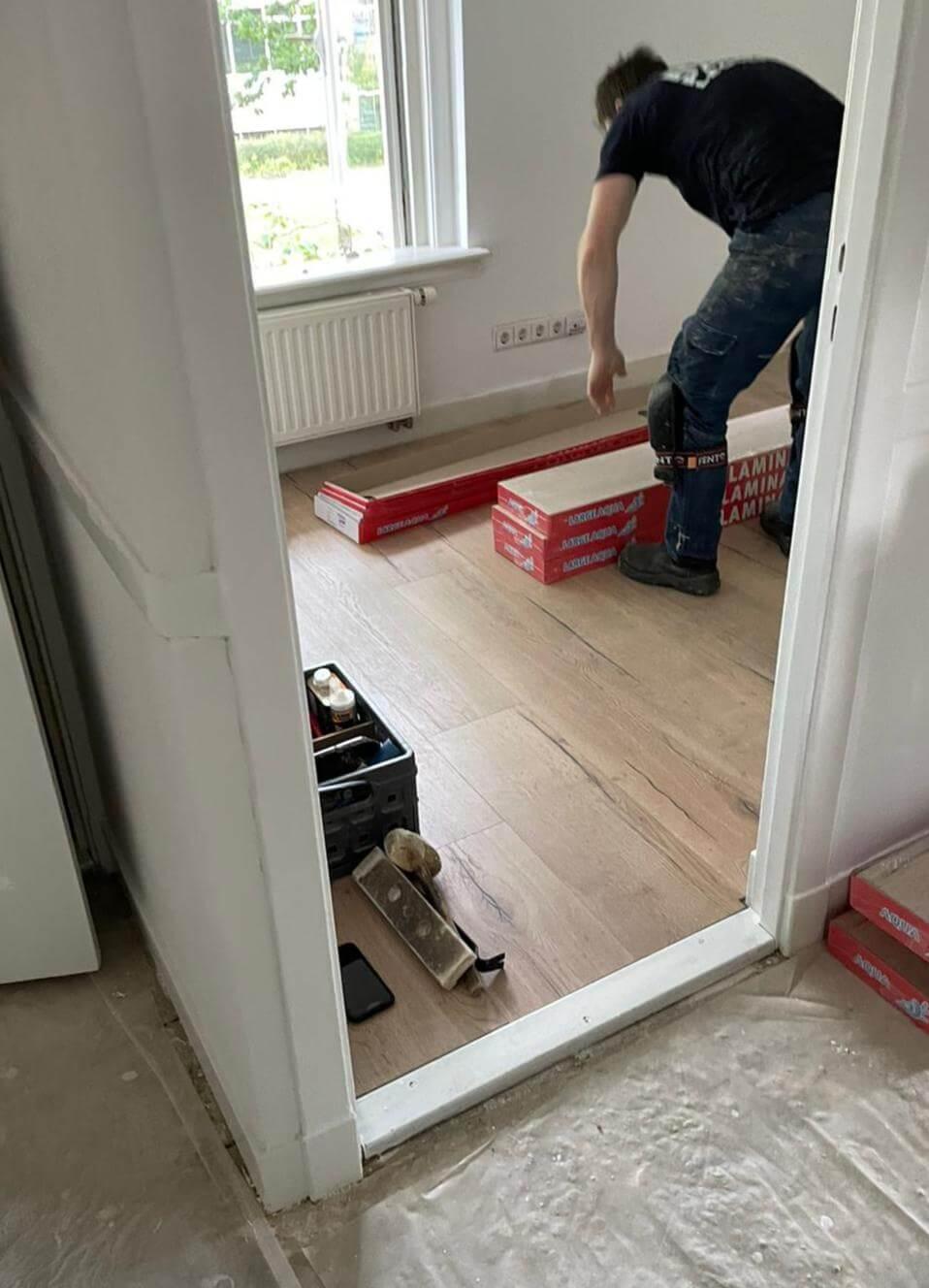 pvc vloeren, goedkope pvc vloeren, laminaat, vloer leggen, verhuizen