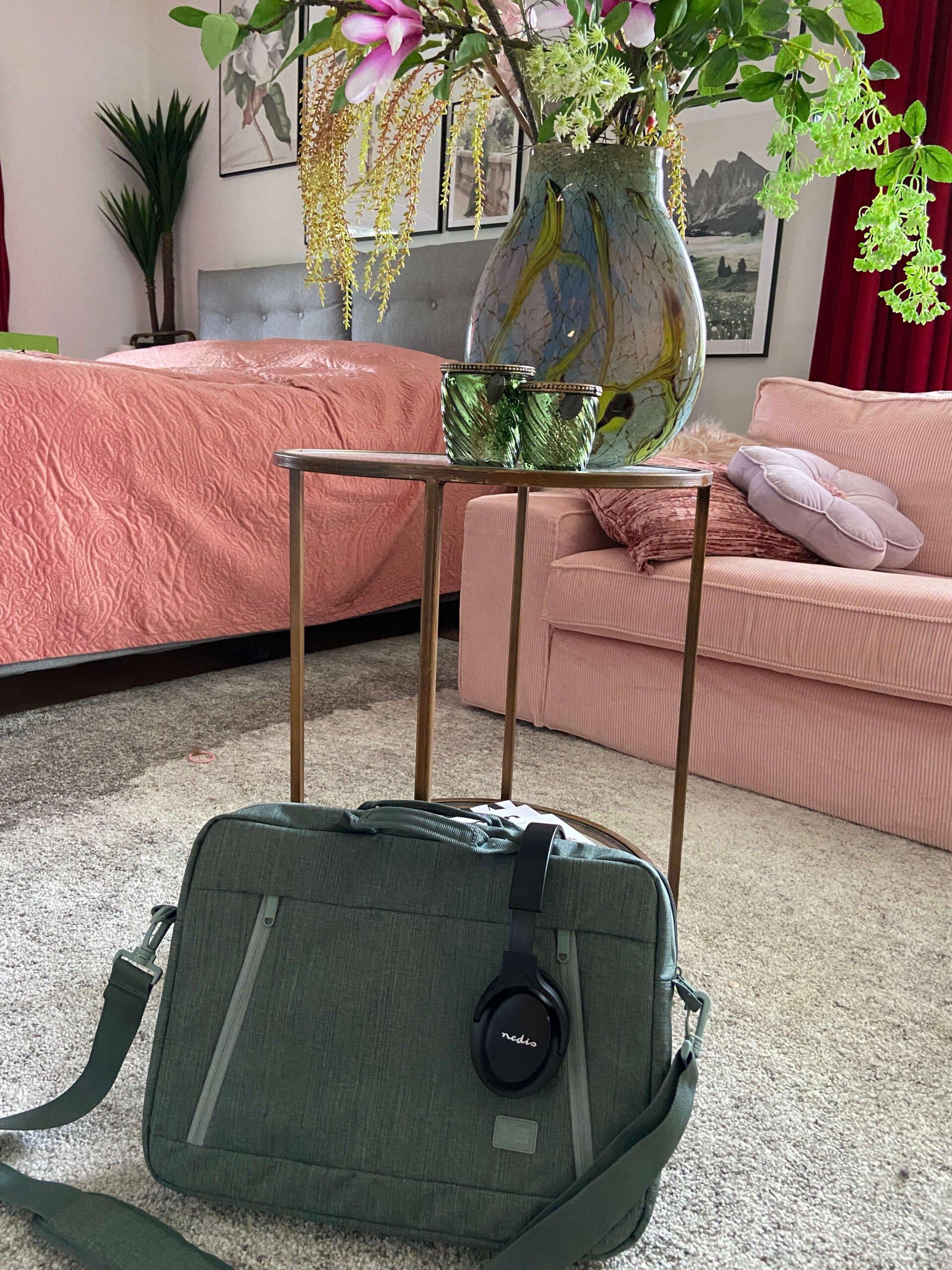 Case logic laptoptas, Thuiswerken, thuiswerkplek, thuiswerk tips
