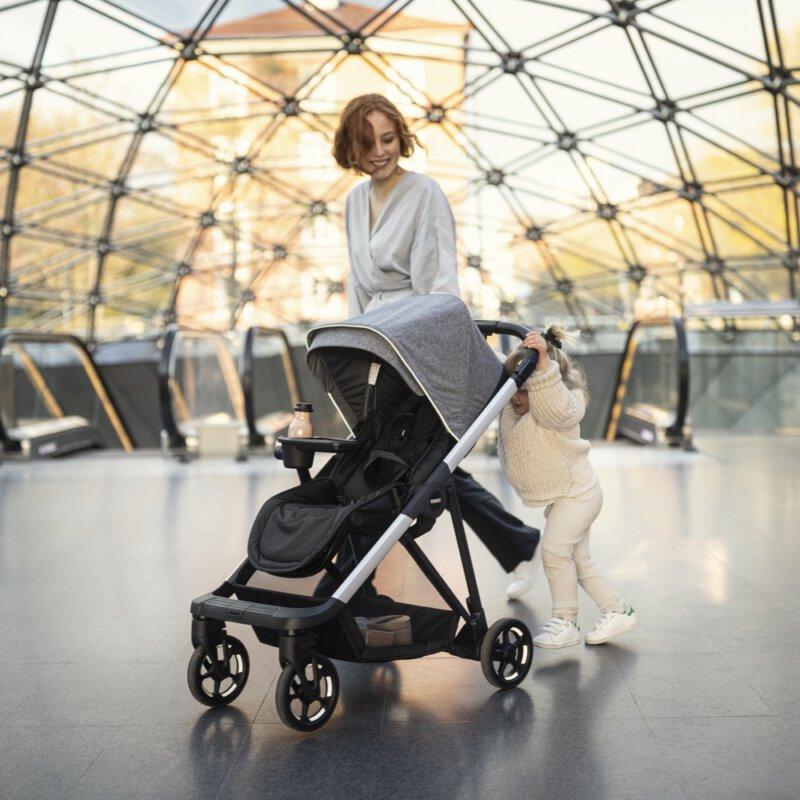 Nieuwe compacte Thule Shine kinderwagen ideaal  voor in de stad